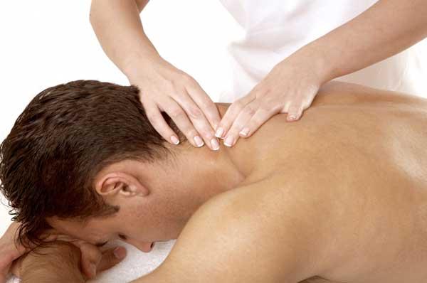 Медицинский массаж воротниковой зоны