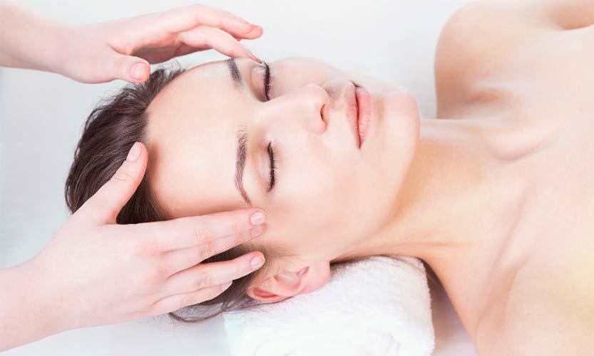 Медицинский массаж головы