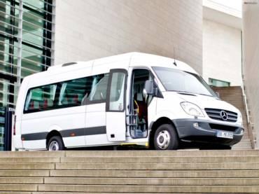 Перевозка пассажиров 16 мест по городу
