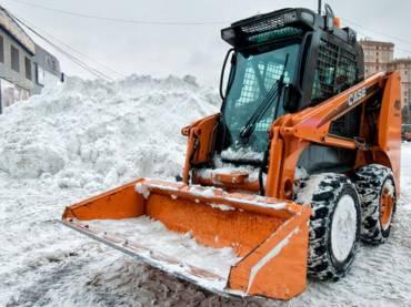 Услуги по уборке снега, мусора