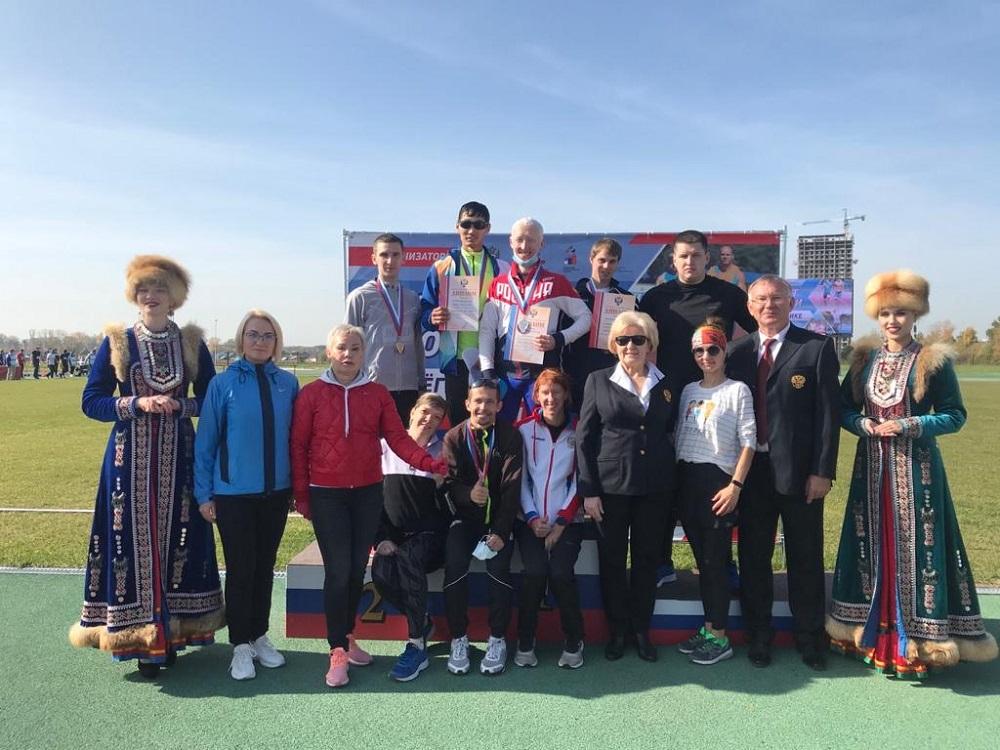 Чемпионат России по легкой атлетике спорт слепых