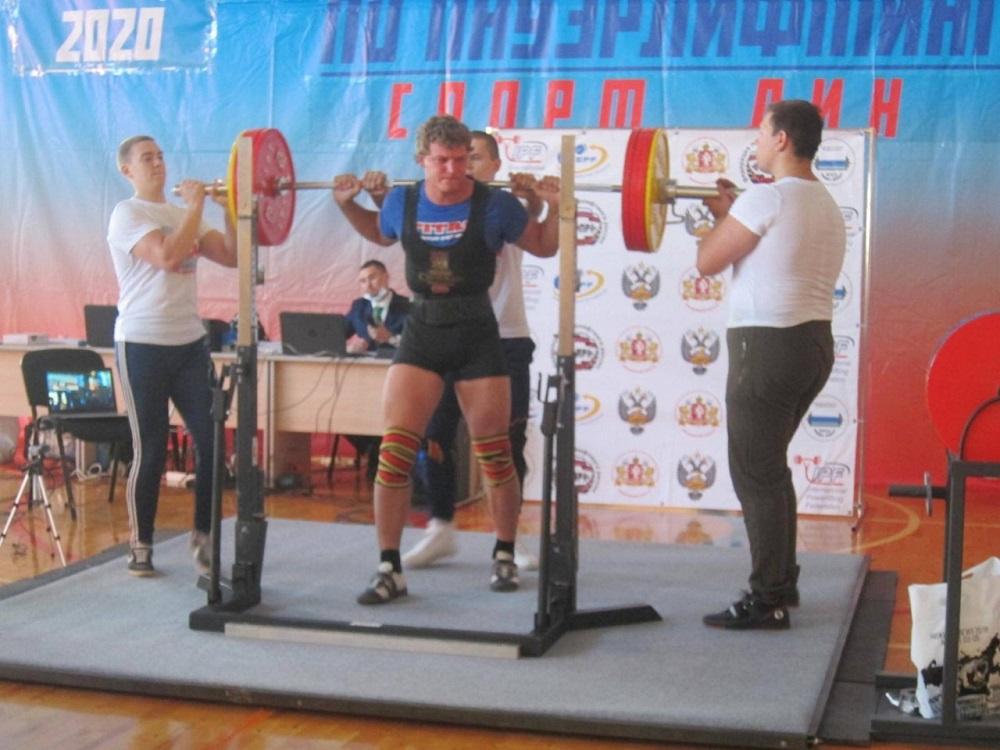 Чемпионат России по пауэрлифтингу спорт ЛИН