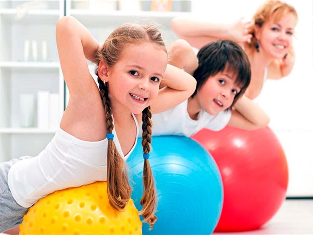 Детский фитнес для всех возрастов