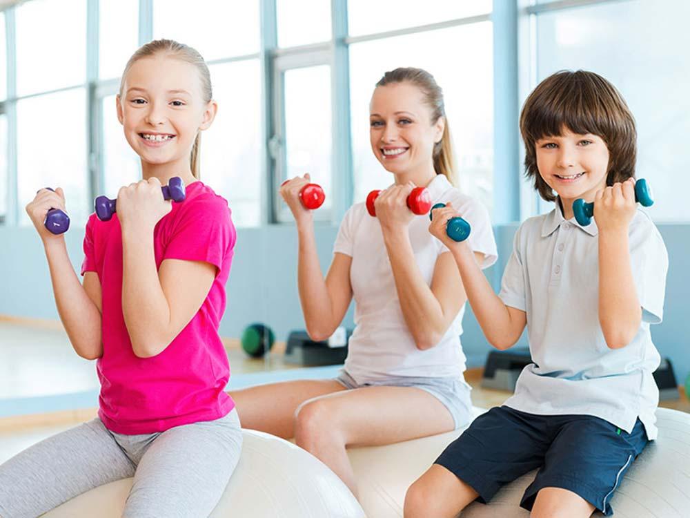 Детский фитнес на Уралмаше