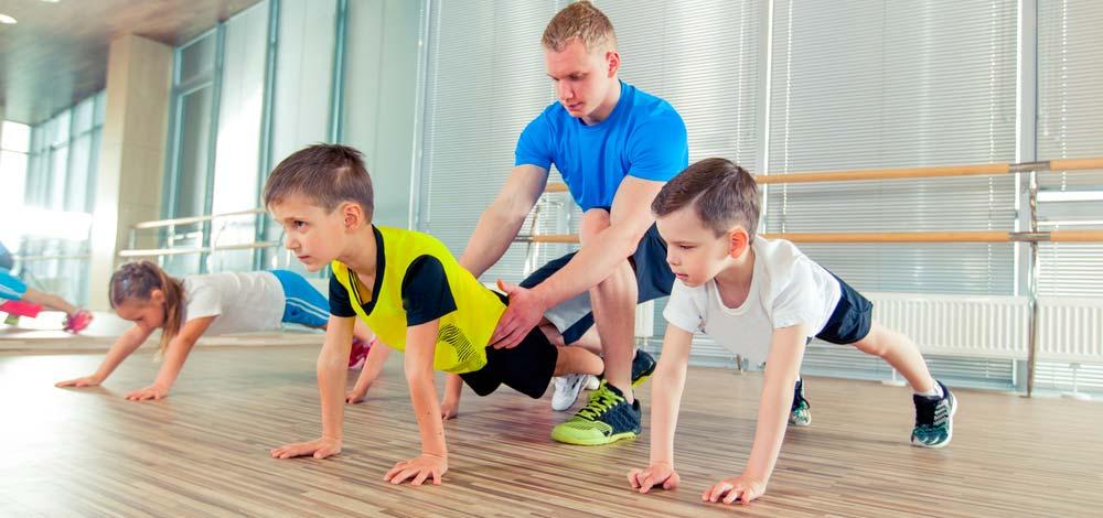 Польза от спортивных занятий для детей