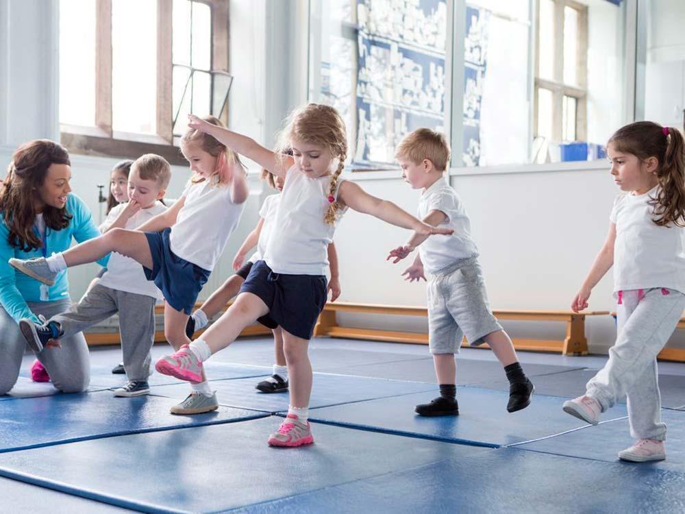 Спортивные занятия для детей на Уралмаше