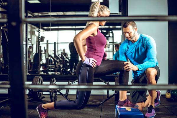 Услуга занятия спортом с инструктором