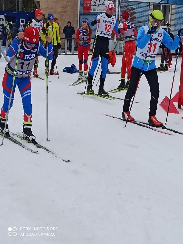 Первенство России по лыжным гонкам спорт слепых