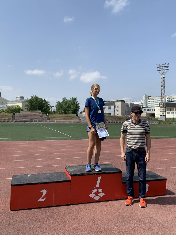 Чемпионат и первенство Свердловской области по легкой атлетике